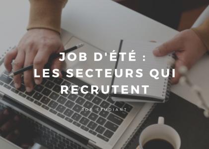 Job d'été : quel secteur recrute ?